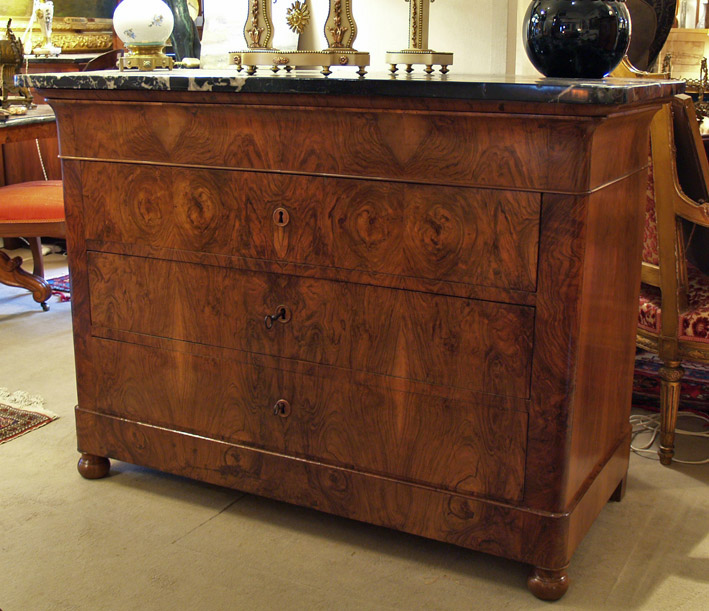 Commode noyer Restauration