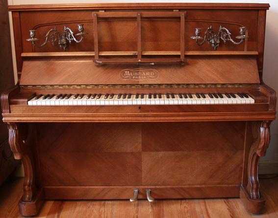 Ric de br geot antiquit s - Marque de piano francais ...